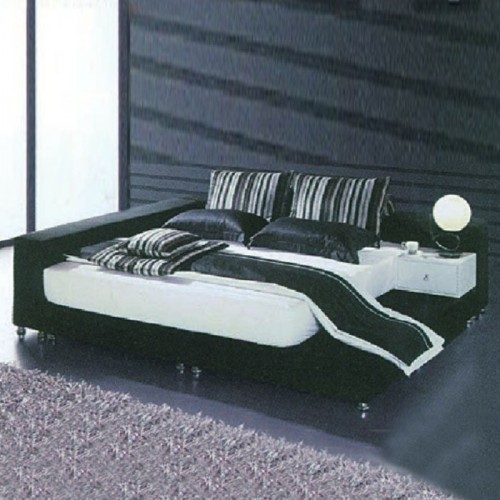 简约现代卧室双人床
