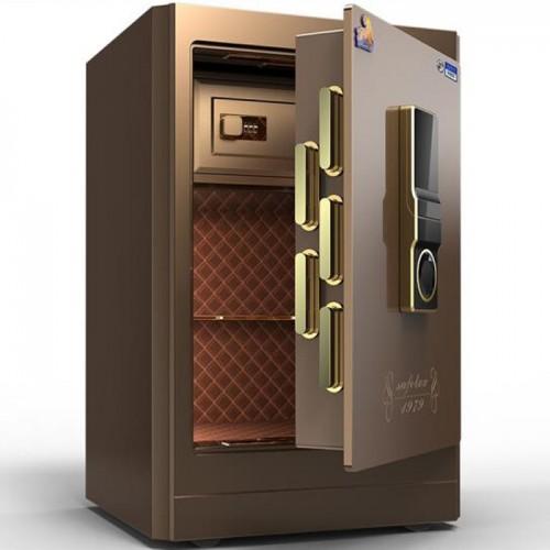 指紋密碼保管柜 全鋼