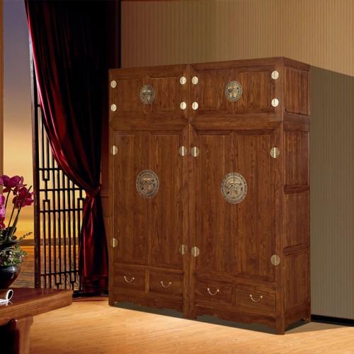 儲物柜雕花衣柜 臥室