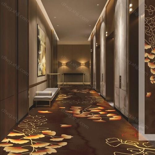 酒店宾馆走廊地毯满铺R6531G01