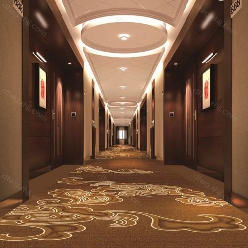 酒店走廊玄关过道地毯1F9021G01