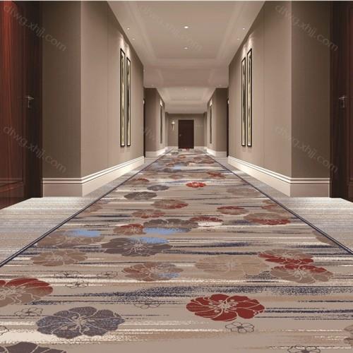 酒店宾馆走廊地毯满铺可定制3C4395G01