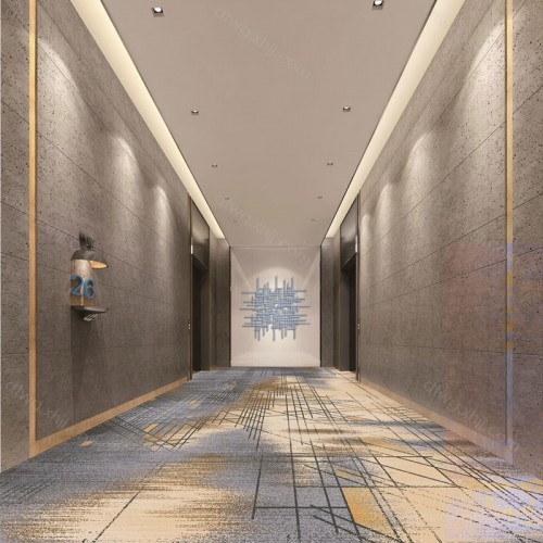 创意时尚走廊地毯尺寸定制R6334G01