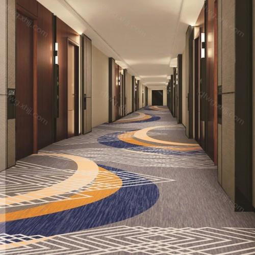 高档走廊地毯  批发酒店地毯PG01-R6635