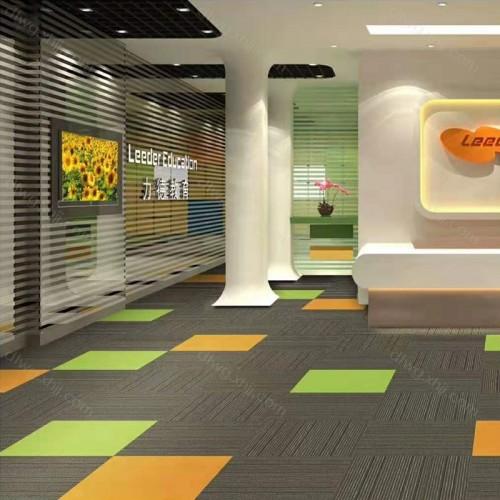 厂家推荐 办公地毯 HDB02+K04+K05
