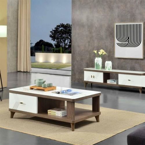 简易北欧客厅电视柜茶