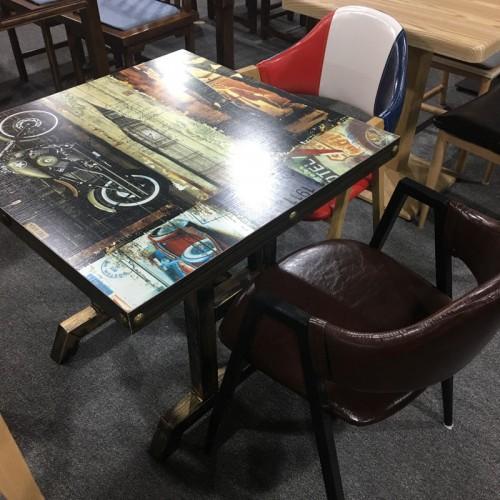 主题咖啡厅餐桌椅生产定制27