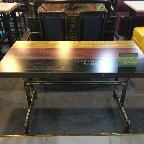主题咖啡西餐厅餐桌椅价格优惠29