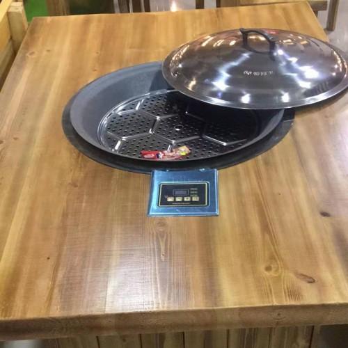 电磁炉火锅桌柴锅炖餐桌厂价直销01