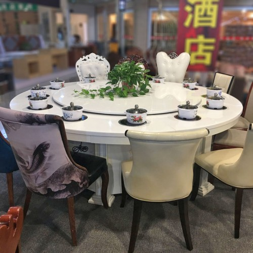 香河富源酒店餐桌椅电磁炉火锅桌79
