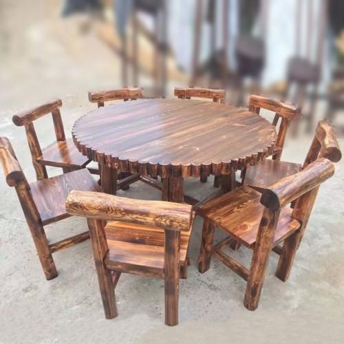 特价促销饭店餐桌椅酒店餐厅圆桌52