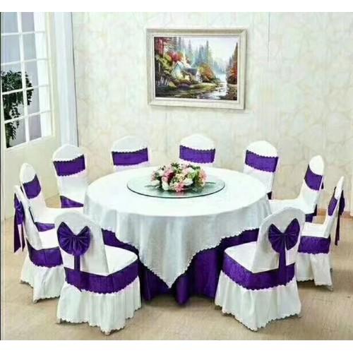 酒店圆桌带转盘宴会餐桌价格 55
