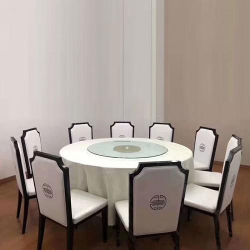现代新中式酒店包厢餐桌椅价格56