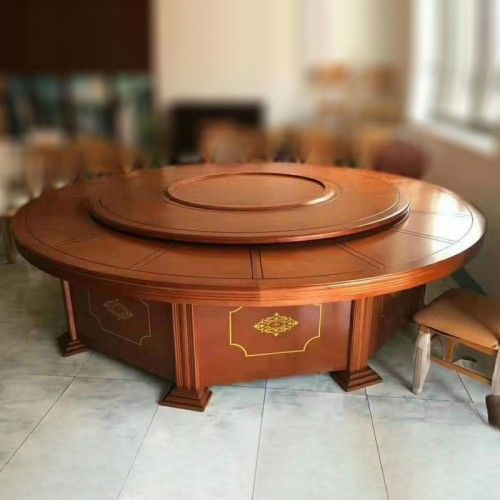 厂家现货酒店圆桌电动餐桌19