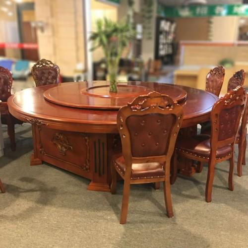 酒店餐桌电动大圆桌品质保证53