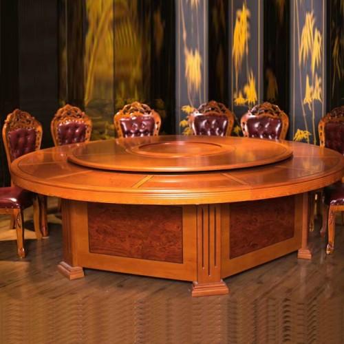 工厂促销电动餐桌转盘大圆桌59