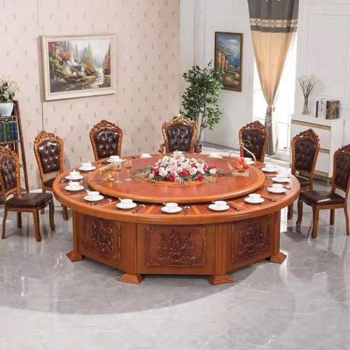 酒店饭店包间电动餐桌供应厂家63