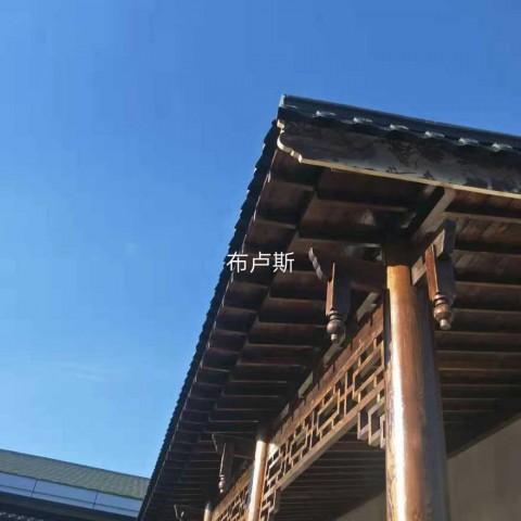香河户外长廊实木带顶座板木制葡萄架公园宣传栏厂家 (34播放)