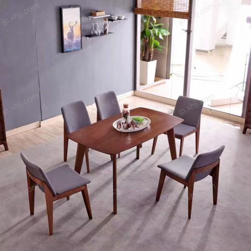 香河西餐厅桌椅厂家专业生产北欧风格餐厅桌椅