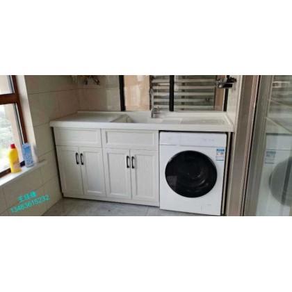 全铝家居 厂家定制销售全铝阳台洗衣柜