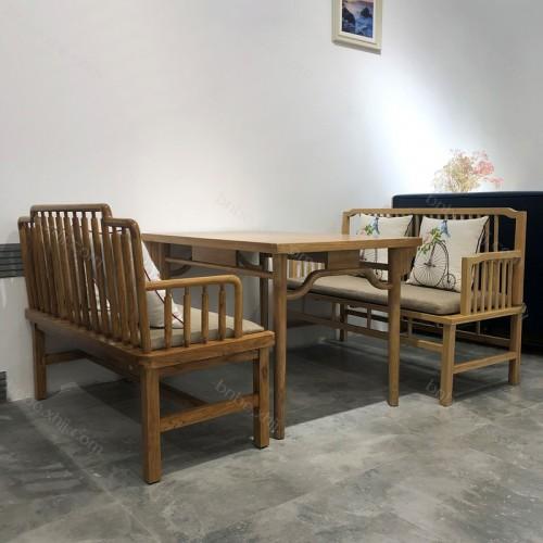 厂家直销咖啡厅西餐厅休闲桌卡座26