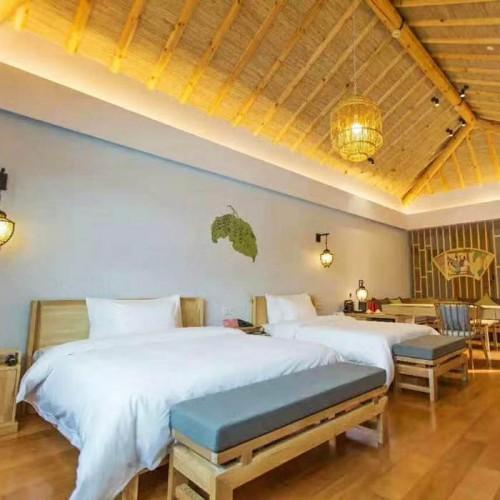 北欧风格民宿套房家具 酒店实木客房家具 52#