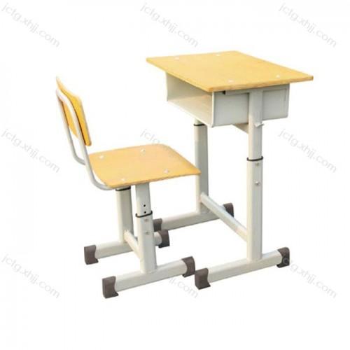 学生升降课桌单人钢制课桌椅03