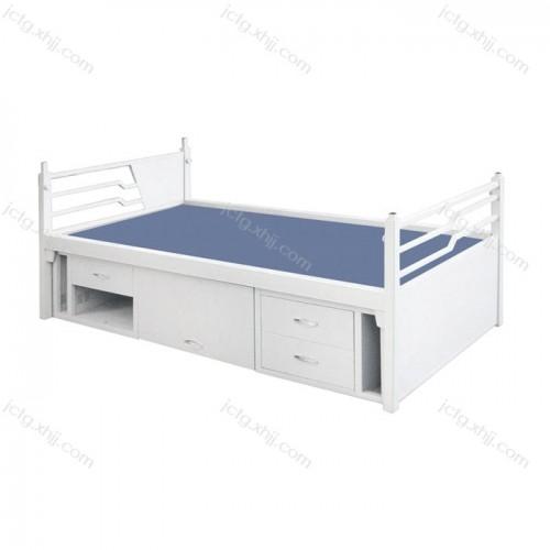 批发供应钢制单人床储物床01