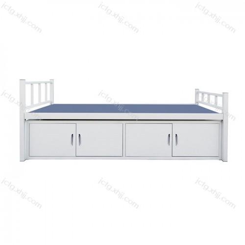 钢制宿舍床底带柜子单人床尺寸规格 03