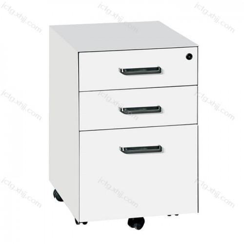 办公室桌边文件柜活动储物矮柜尺寸03