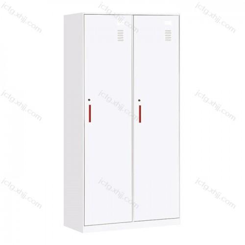 钢制二门更衣柜薄边储物柜生产05