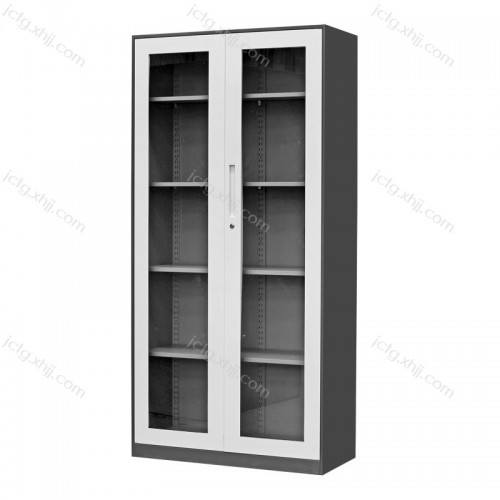 通体玻璃平开柜档案资料柜12