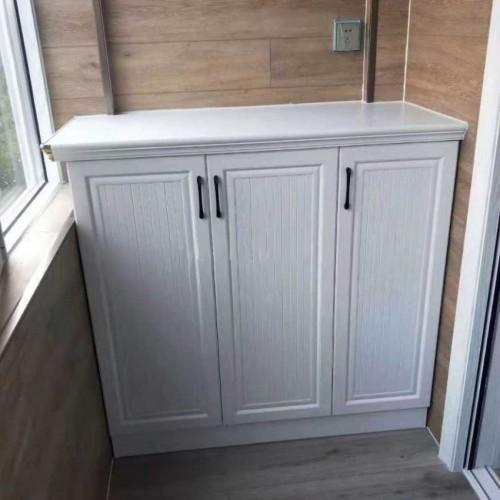 全铝家居 工厂直营定制全铝阳台柜