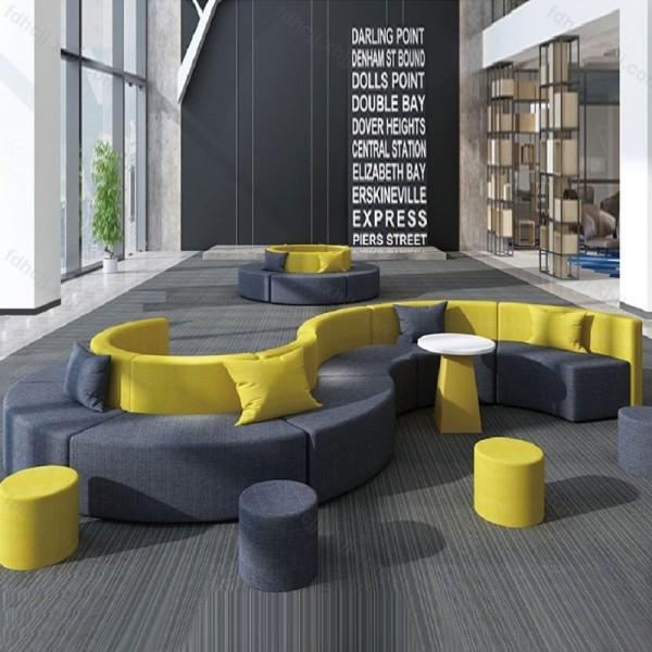 简易创意办公室休闲沙