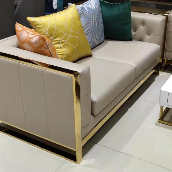意式轻奢客厅组合沙发