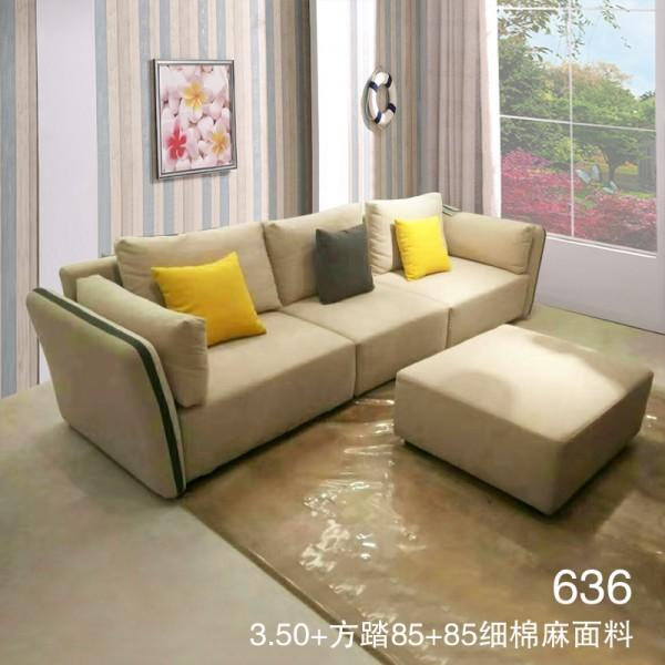 生产布艺沙发 细棉麻