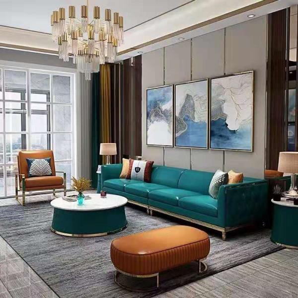 时尚现代意式组合沙发