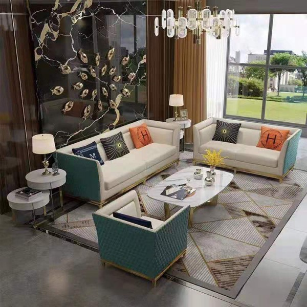 简约现代意式轻奢沙发