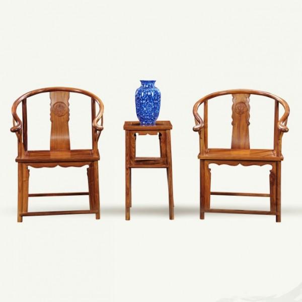 圈椅 刺猬紫檀