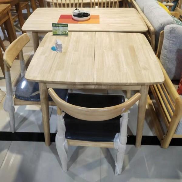 香河家具城实木餐桌椅
