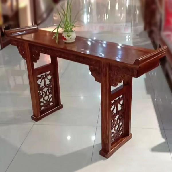 仿古老榆木条案供桌玄
