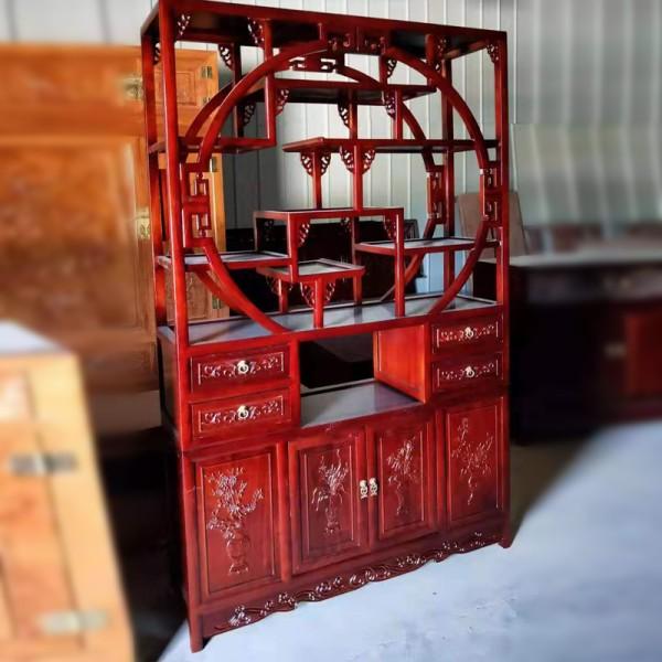 中式老榆木家具多宝阁
