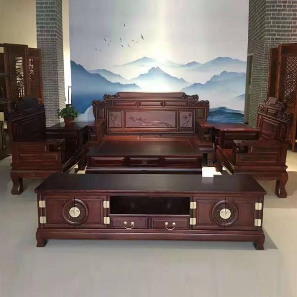 新中式古典老榆木仿古