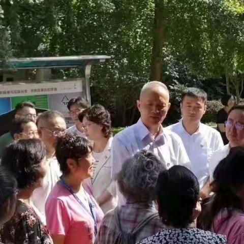 北京市市委书记蔡琦来我公司视察工作 (1)