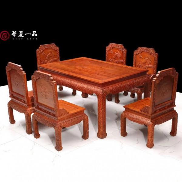 华夏一品松鹤餐桌