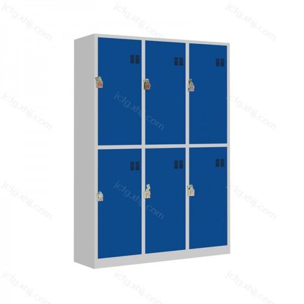 六门彩门更衣柜员工储