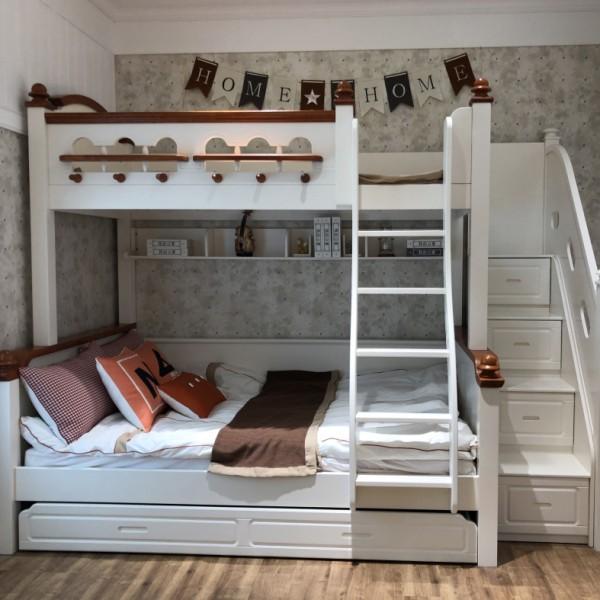 我的e家现代北欧儿童上下床8L56