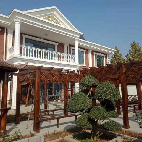 香河布卢斯户外休闲家具庭院设计葡萄架凉亭吧台桌椅简易中式围栏 (3播放)