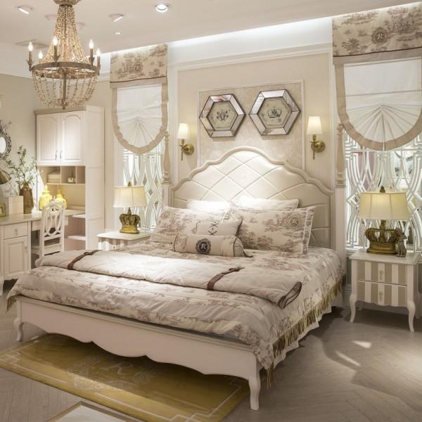 豆丁新贵族儿童套房家具实木家具