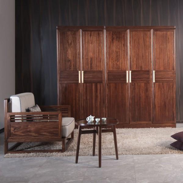 遇见新中式实木家具衣柜MTA13#